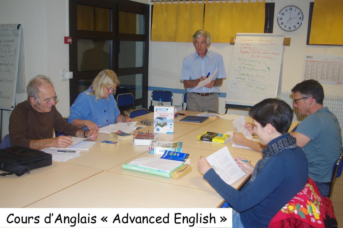 Cours d anglais