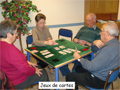 Jeux de cartes avec legende