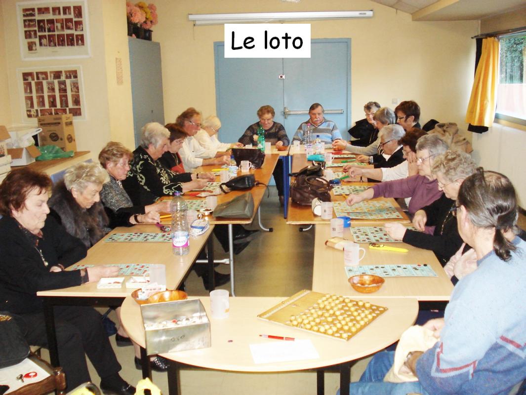 Loto avec legende